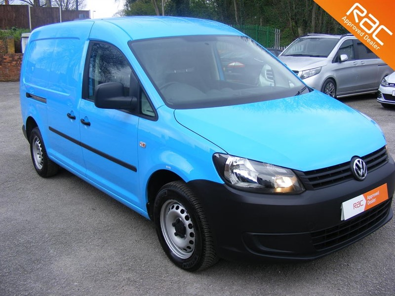 used VW Caddy C20 TDI STARTLINE in nottinghamshire