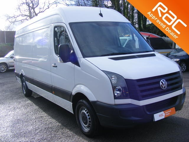used VW Crafter CR35 TDI H/R P/V in nottinghamshire