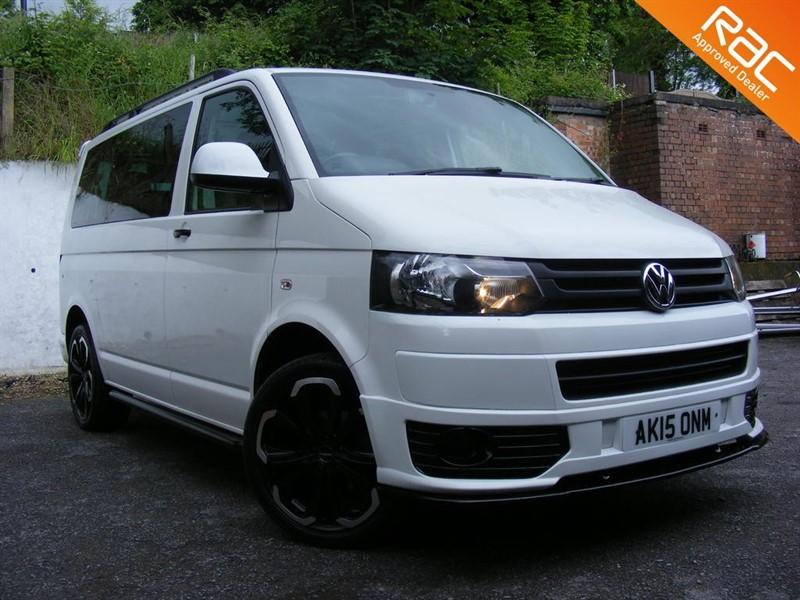used VW Transporter T30 SE TDI SHUTTLE BLUEMOTION 9 SEAT MINIBUS in nottinghamshire