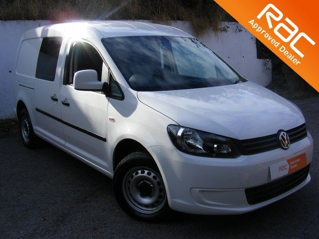 used VW Caddy Maxi C20 TDI KOMBI CREW VAN WITH AIR CON, COLOUR CODED BUMPERS NAD 2 REMOTE KEYS in nottinghamshire