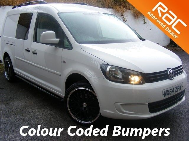 "used VW Caddy Maxi C20 TDI KOMBI 102 CREW VAN WITH 18""ALLOY WHEELS, SIDE STEPS AND ROOF BARS in nottinghamshire"