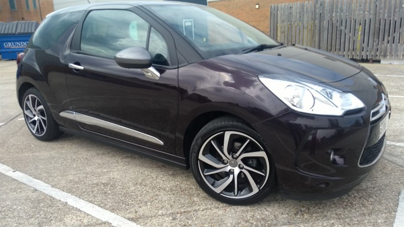 used Citroen DS3 PURETECH DSTYLE NAV S/S EAT6 in hampshire