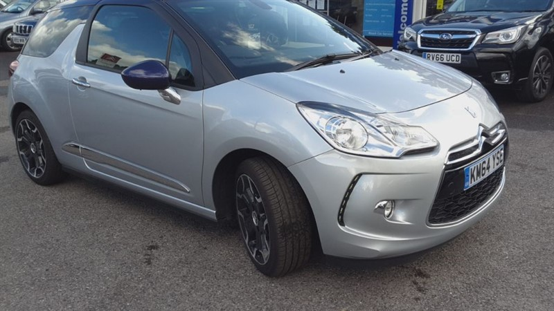 used Citroen DS3 DSTYLE PLUS in hampshire