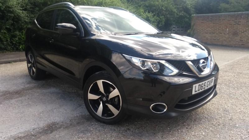 used Nissan Qashqai DCI N-TEC PLUS in hampshire