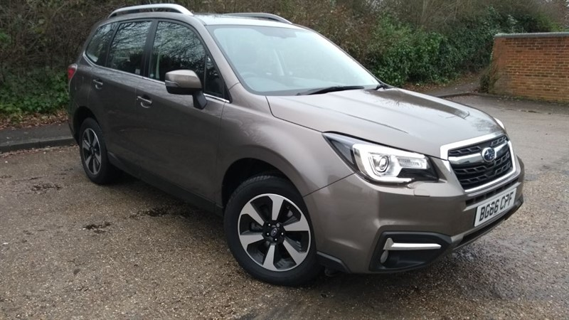 used Subaru Forester D XC in hampshire