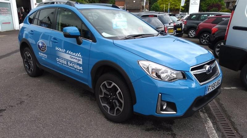 used Subaru XV D SE in hampshire