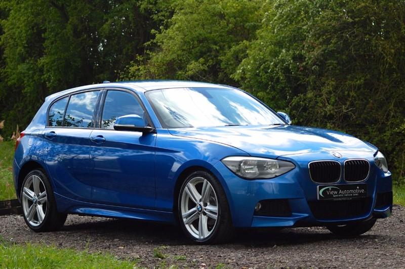 used BMW 116i 2012/12 116 M SPORT 5 Door Manual in essex