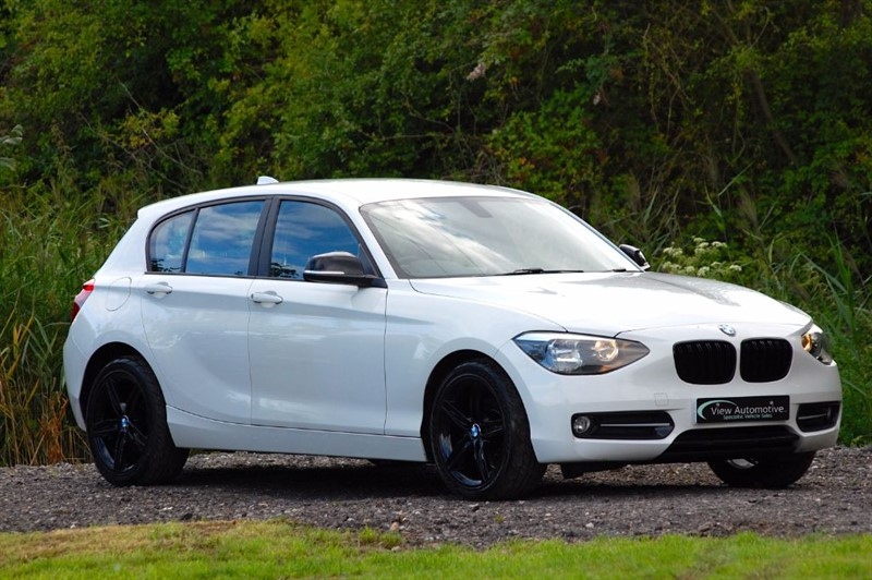 used BMW 116i 2012/12 116I SPORT 5 DOOR MANUAL in essex