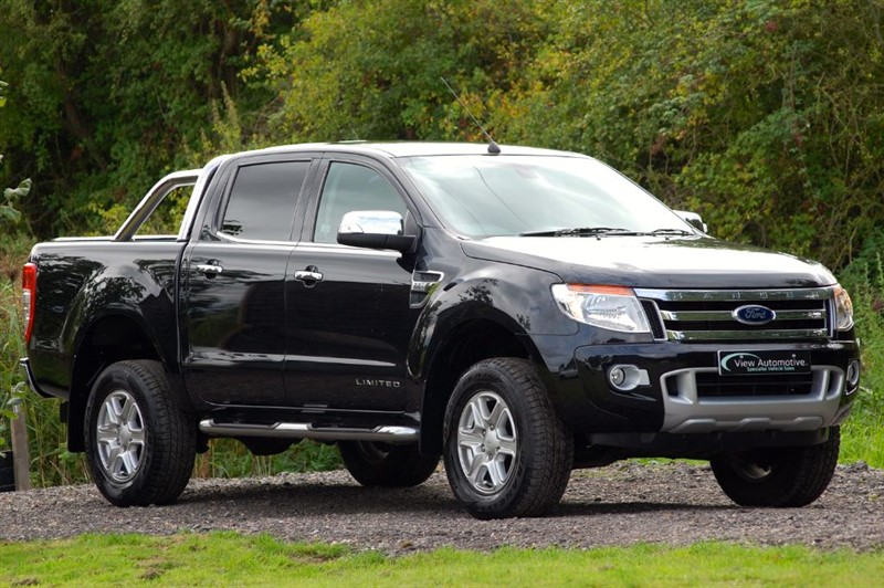 used Ford Ranger 2015/64 LIMITED 4X4 DCB TDCI in essex