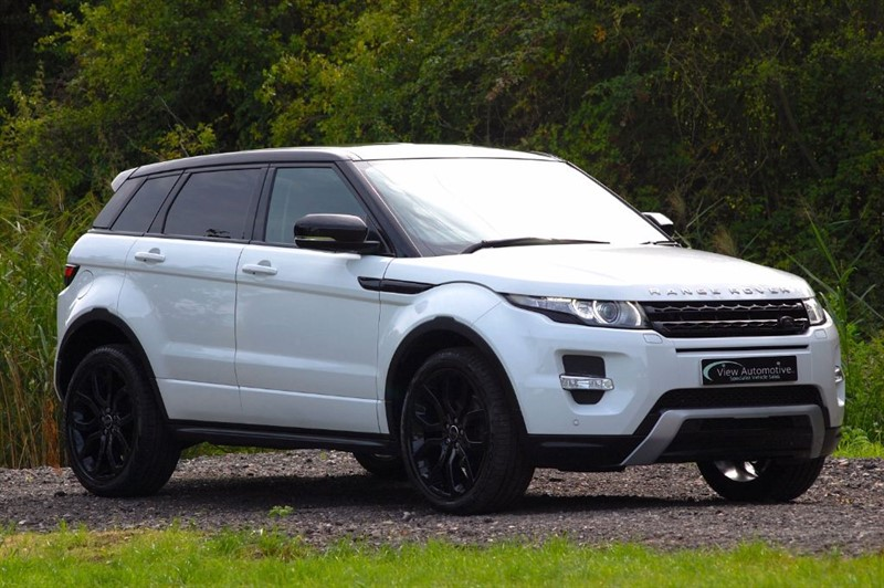 used Land Rover Range Rover Evoque 2013/13 SD4 DYNAMIC AUTO 5 Door in essex