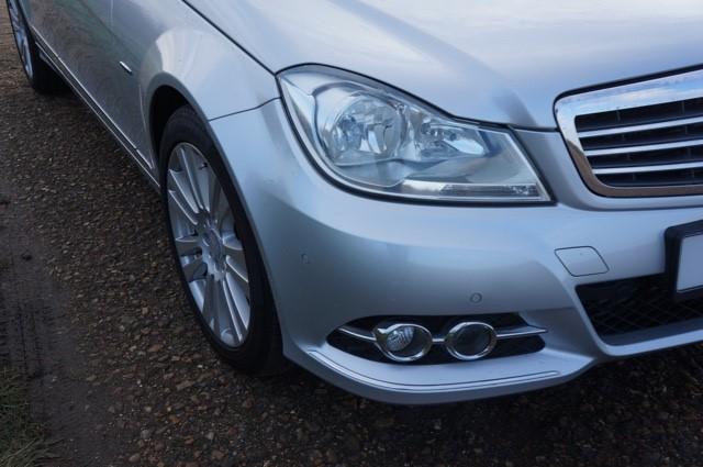Used Iridium Silver Mercedes C350 For Sale   Cambridgeshire