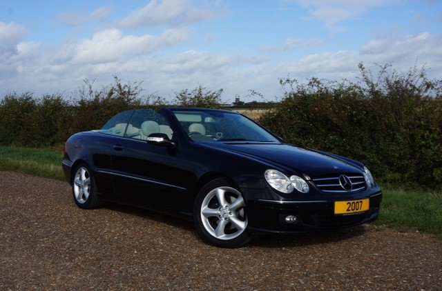 used Mercedes CLK280 ELEGANCE in cambridge