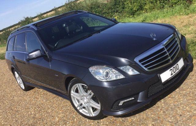 used Mercedes E350 CDI BLUEEFFICIENCY SPORT in cambridge