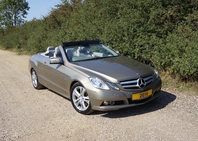 used Mercedes E250 CDI BLUEEFFICIENCY SE in cambridge
