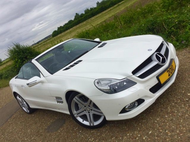 used Mercedes SL SL350 in cambridge