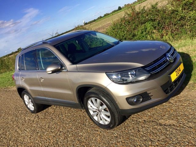 used VW Tiguan MATCH TDI BLUEMOTION TECH 4MOTION DSG in cambridge