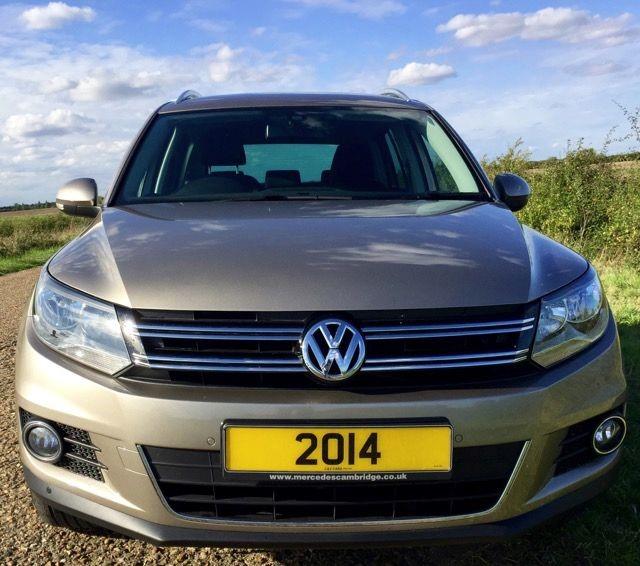 Used Titanium Beige VW Tiguan For Sale