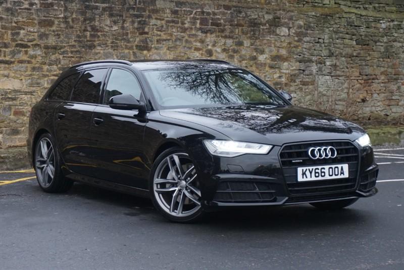 used Audi A6 Avant AVANT TDI QUATTRO S LINE BLACK EDITION in skipton-north-yorkshire