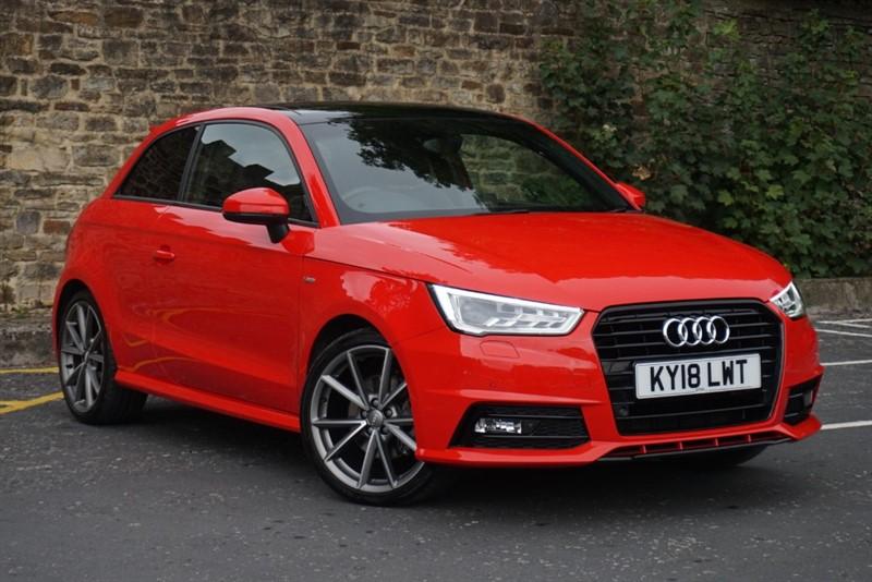used Audi A1 TFSI S LINE BLACK EDITION NAV in skipton-north-yorkshire