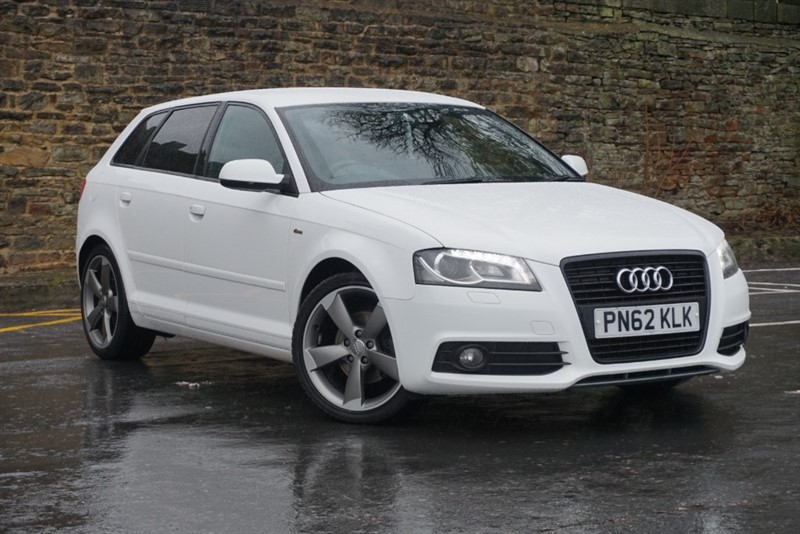 used Audi A3 SPORTBACK TDI S LINE SPECIAL EDITION in skipton-north-yorkshire