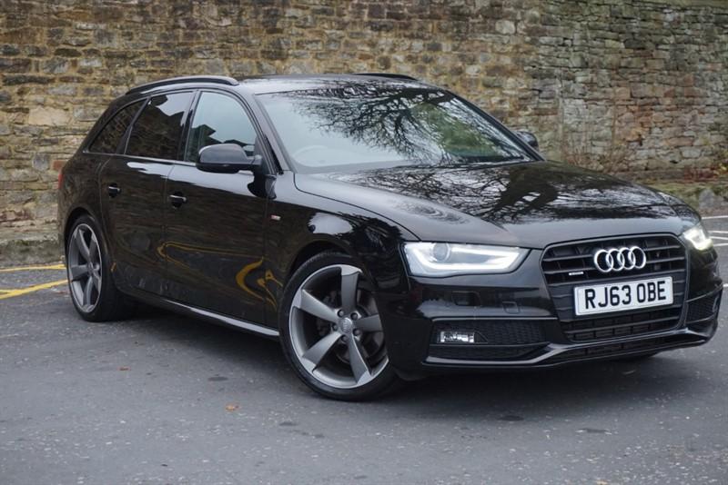 used Audi A4 AVANT TDI QUATTRO S LINE BLACK EDITION in skipton-north-yorkshire