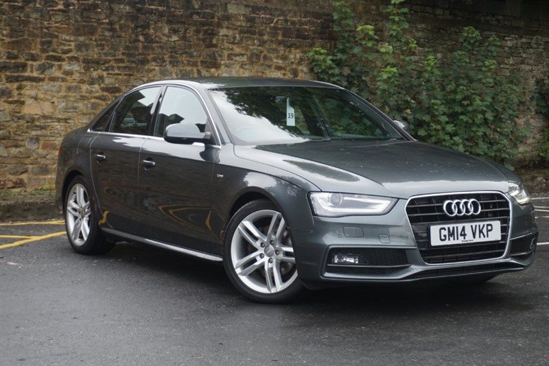 used Audi A4 TDI S LINE in skipton-north-yorkshire