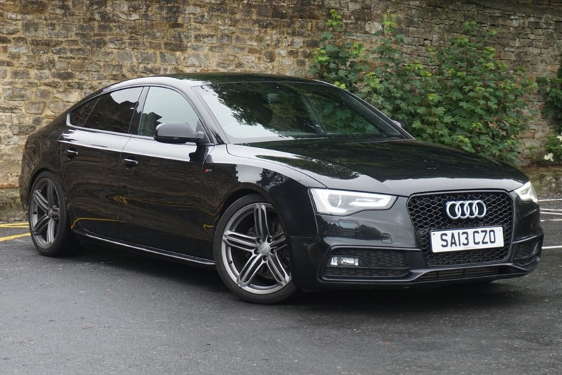 used Audi A5 SPORTBACK TDI S LINE in skipton-north-yorkshire