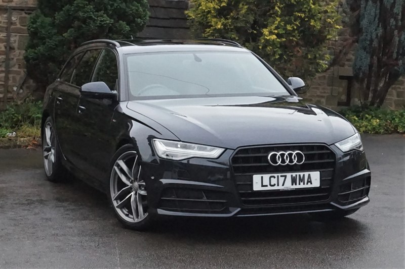 used Audi A6 Avant AVANT TDI ULTRA S LINE BLACK EDITION in skipton-north-yorkshire