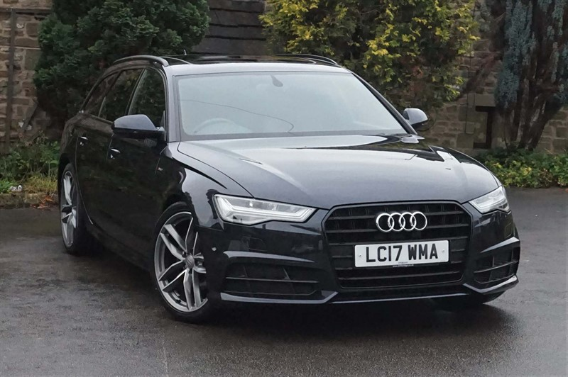 used Audi A6 Avant ultra Black Edition Avant S Tronic (s/s) in skipton-north-yorkshire