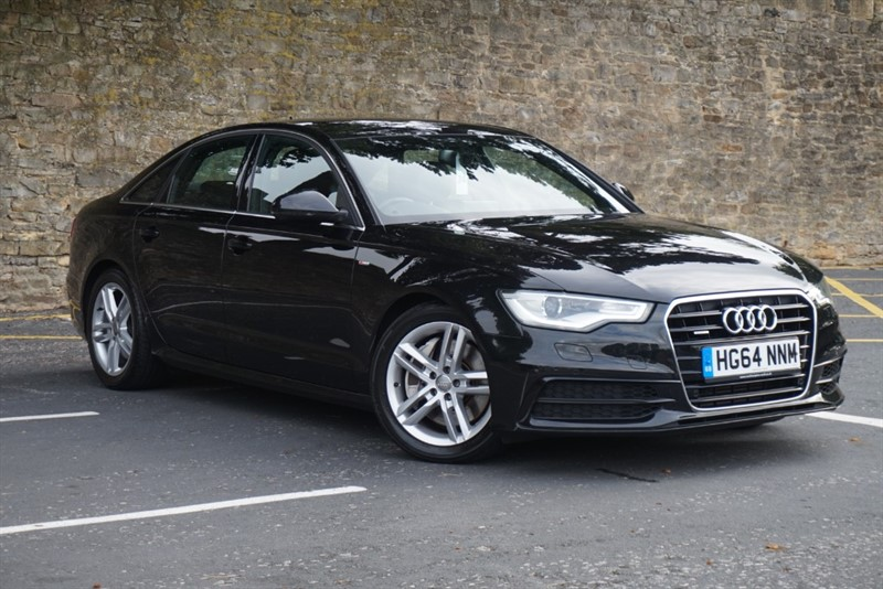 used Audi A6 Saloon TDI QUATTRO S LINE in skipton-north-yorkshire