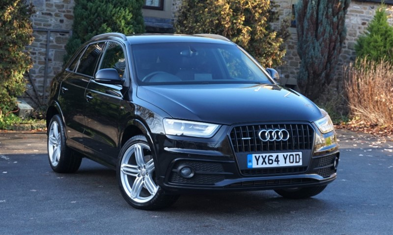 used Audi Q3 TDI QUATTRO S LINE PLUS in skipton-north-yorkshire