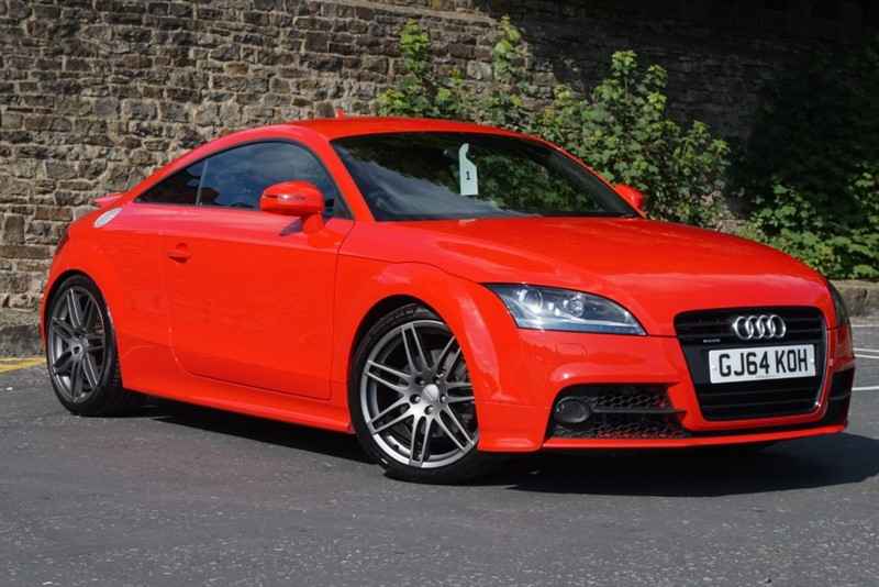 used Audi TT TDI QUATTRO BLACK EDITION in skipton-north-yorkshire