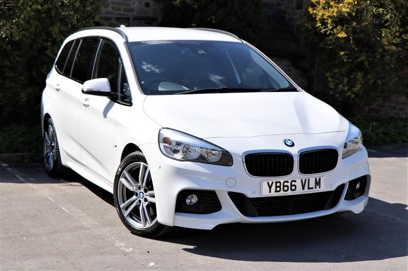used BMW 220d M Sport Gran Tourer Auto xDrive (s/s) in skipton-north-yorkshire