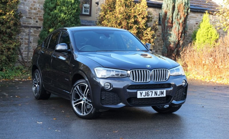 used BMW X4  XDRIVE30D M SPORT in skipton-north-yorkshire