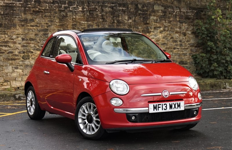 used Fiat 500 C LOUNGE in skipton-north-yorkshire