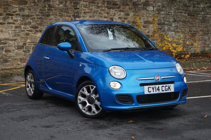 used Fiat 500 S in skipton-north-yorkshire