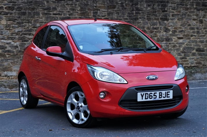 used Ford KA TITANIUM in skipton-north-yorkshire
