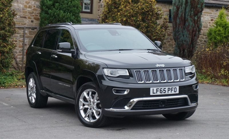 used Jeep Grand Cherokee V6 CRD SUMMIT in skipton-north-yorkshire