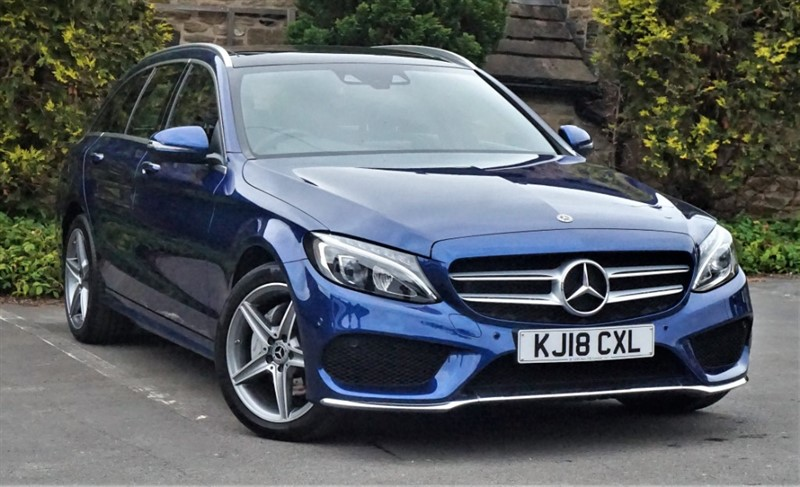 used Mercedes 200 C  4MATIC AMG LINE PREMIUM in skipton-north-yorkshire