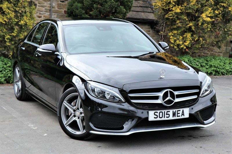 used Mercedes C220 d AMG Line (Premium Plus) 7G-Tronic+ (s/s) in skipton-north-yorkshire