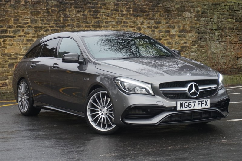 used Mercedes CLA45 AMG Cla Amg Cla 45 4Matic Estate 2.0 Automatic Petrol in skipton-north-yorkshire