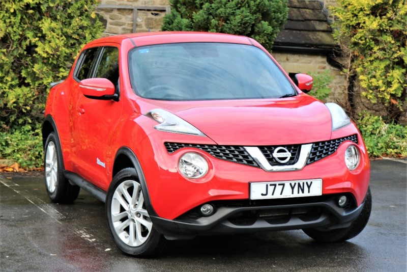 used Nissan Juke ACENTA PREMIUM DIG-T in skipton-north-yorkshire