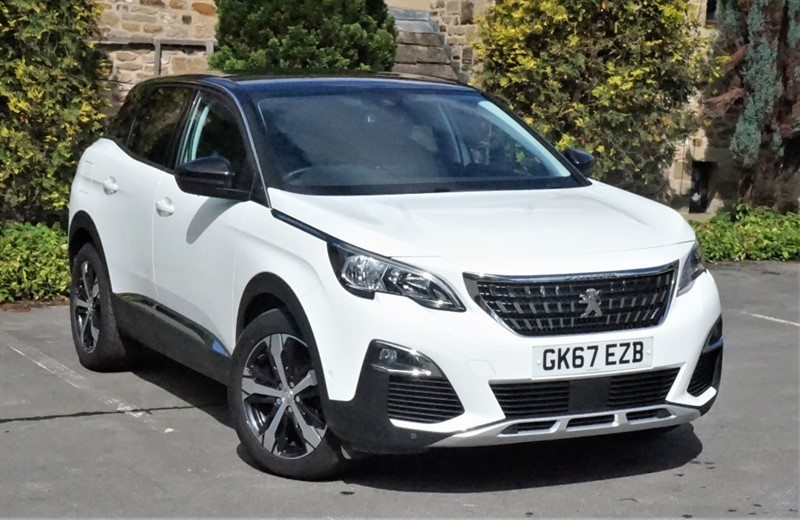 used Peugeot 3008 BLUEHDI S/S ALLURE in skipton-north-yorkshire