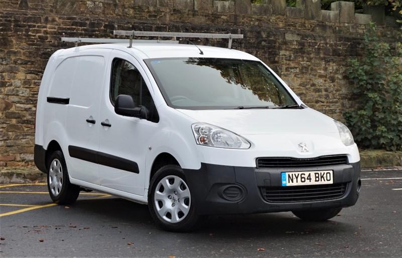 used Peugeot Partner HDI Crew Van in skipton-north-yorkshire