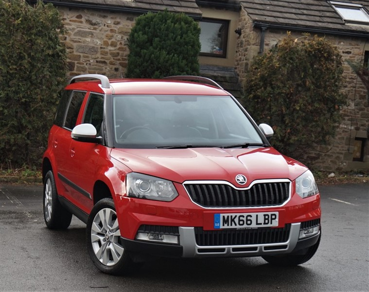 used Skoda Yeti OUTDOOR SE L TDI SCR in skipton-north-yorkshire