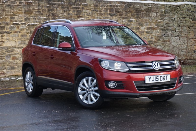 used VW Tiguan MATCH TDI BLUEMOTION TECHNOLOGY in skipton-north-yorkshire