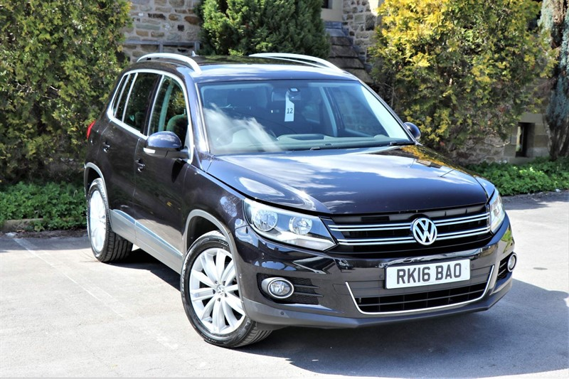 used VW Tiguan BlueMotion Tech Match Edition (s/s) in skipton-north-yorkshire