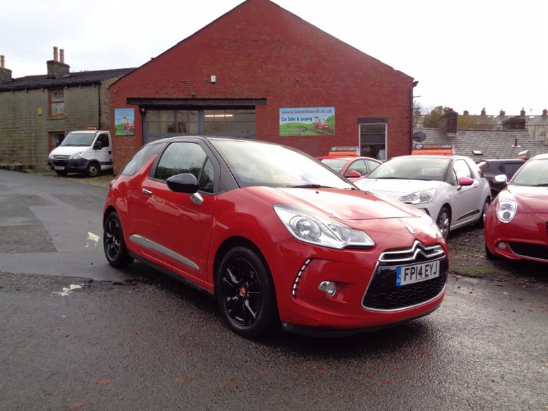 used Citroen DS3 E-HDI DSTYLE in rossendale-lancashire