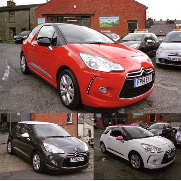 used Citroen DS3 DSTYLE in rossendale-lancashire