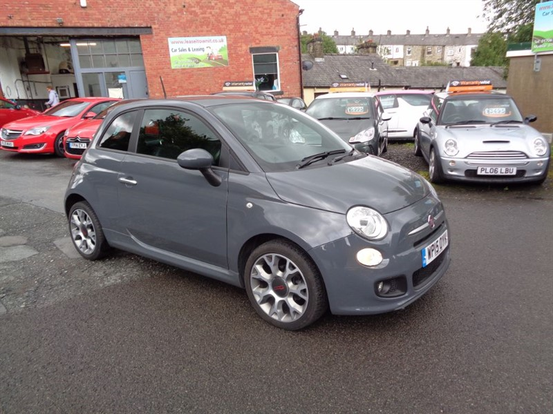 used Fiat 500 S in rossendale-lancashire
